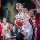 Mondial 2018 : Anete STEINBERGA (Lettonie), 30 points face aux Etats-Unis