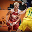 Mondial 2018 : Isil ALBEN (Turquie), 9 points et 9 passes décisives face à l'Australie
