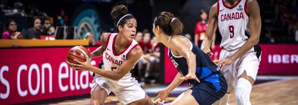 Mondial 2018 : Kia NURSE (Canada), 29 points dont 6/10 à 3 points