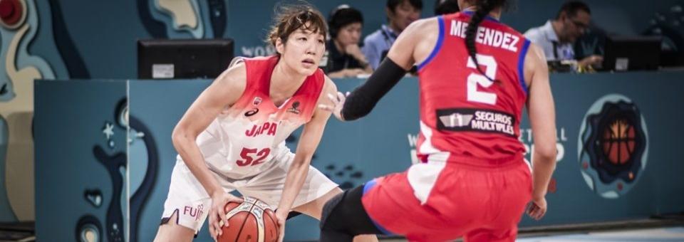 Mondial 2018 : Yuki MIYAZAWA (Japon), 15 points, 14 rebonds et 5 passes décisives face à Porto Rico