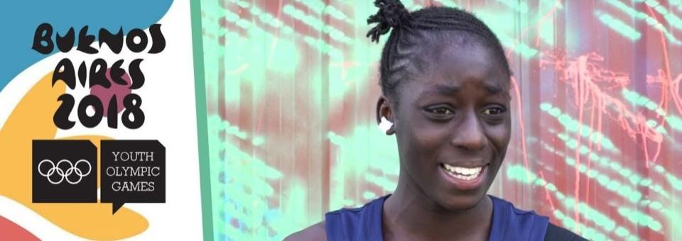 J. O. de la Jeunesse 2018 : Présentation de Diaba KONATE
