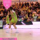 LFB : Super défense d'Hortense LIMOUZIN, contre-attaque et finition de Laura GARCIA derrière l'arc lors de Hainaut Basket – Basket Landes