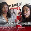 """Johanne GOMIS et Laëtitia KAMBA présentent leur association """"Sneakers, ensemble partageons le dribble de la vie"""""""