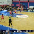 Playoffs NF1 : Le contre du match de Ramata DIAKITE (Voiron) face à Graffenstaden