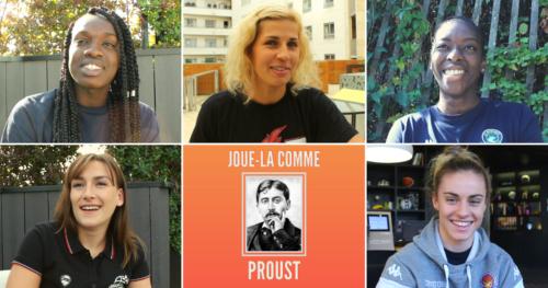 Joue-la comme Proust avec Amel Bouderra, Alix Duchet, Clarince Djaldi-Tabdi, Maud Médénou et Pauline Lithard