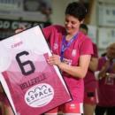 Ligue 2 : Laure BELLEVILLE prend aussi sa retraite sportive, son n°6 retiré par Charnay