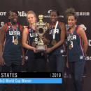 Mondial U18 3×3 2019 : Les Américaines conservent leur titre, la France revient avec la médaille de bronze