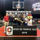 En remportant l'Open de France 3×3 2019, Las Campeonas conservent leur titre