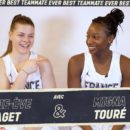 Best teammate ever : Marie-Eve PAGET et Mamignan TOURE