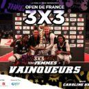 Open de France 3×3 2020 : Las Campeonas dominent pour la 3ème fois consécutive
