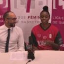 LFB : Conférence de presse après Tarbes – Charnay