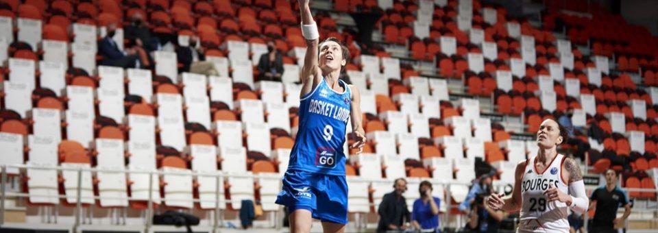 Euroligue : Bourges vainqueur facile face à Basket Landes pour le dernier match en Euroligue de Céline DUMERC