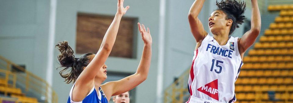 Challenger U18 : Les Bleuettes déroulent face à la Grèce !!
