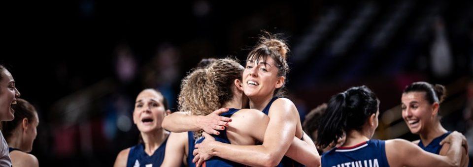TOKYO 2021 5×5 : Serbie – Etats Unis sera l'affiche de la première demi-finale