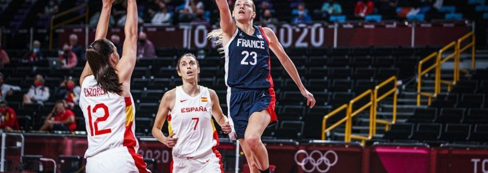 Tokyo 2021 5×5 : Enfin victorieuse des Espagnoles, les Françaises retrouveront les Japonaises en demi-finale !!