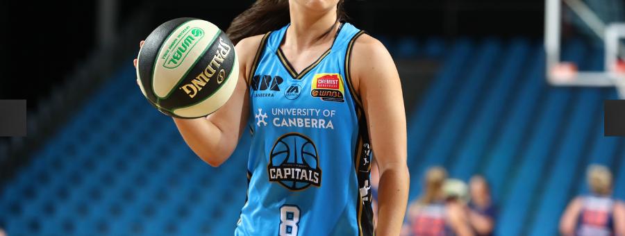 Australie : Abby CUBILLO sera encore aux Canberra Capitals