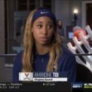 Amandine TOI continue de grandir en NCAA